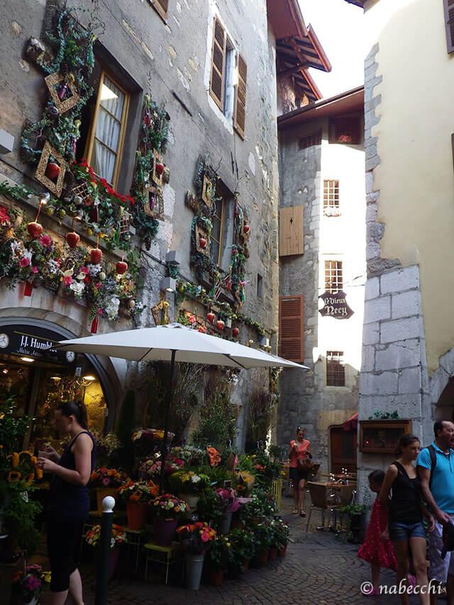 アヌシー旧市街