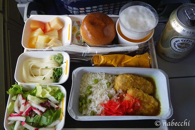 ルフトハンザドイツ航空機内食