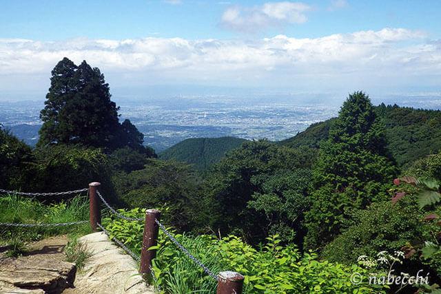 金剛山山頂
