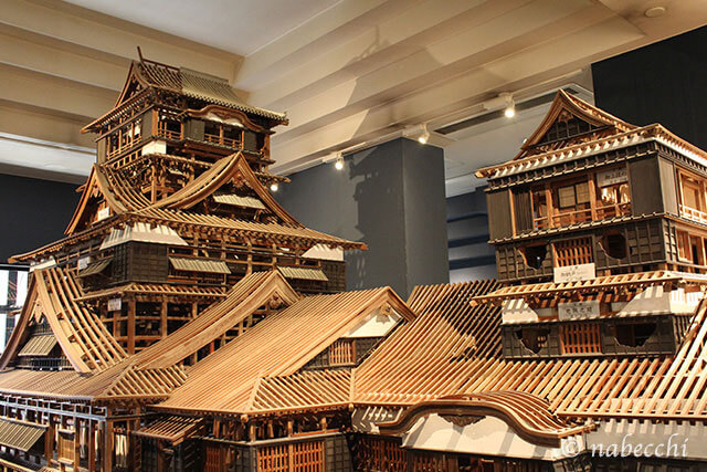 熊本城天守閣 模型