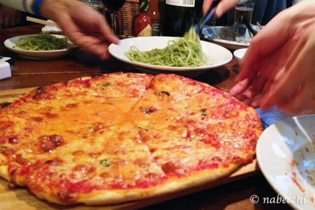 ピザ イタリアン「アリオリオ」神戸岡本