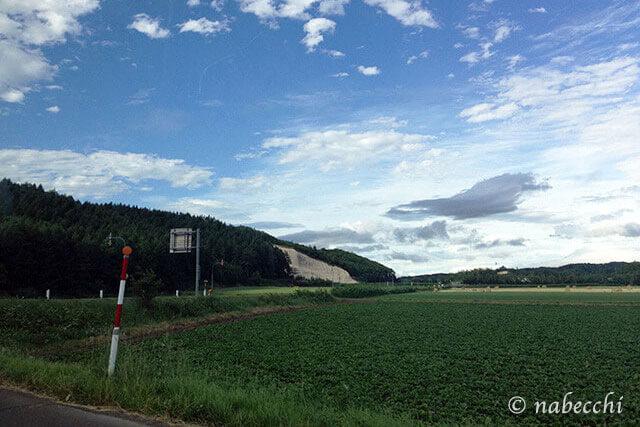 北海道ドライブの景色