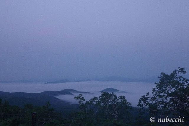 雲海 摩周湖