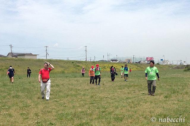 2014関西100km歩こうよ♪最終チェックポイント 最終チーム到着