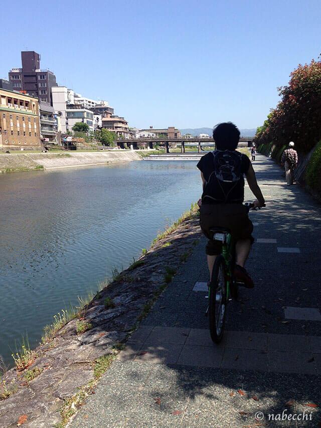 鴨川サイクリング