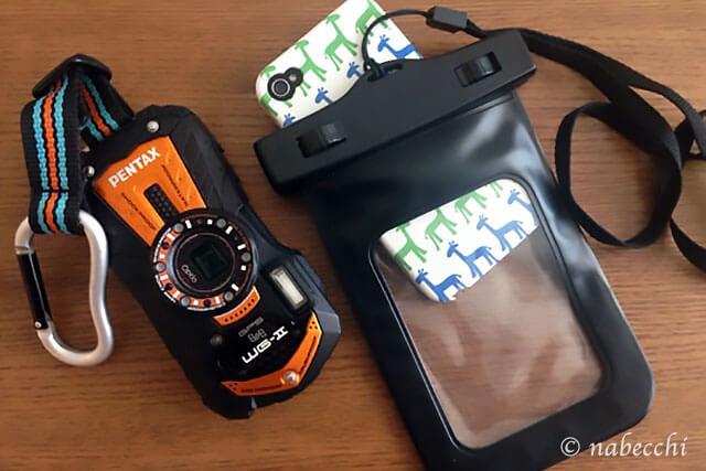 カメラ&携帯 防水対策