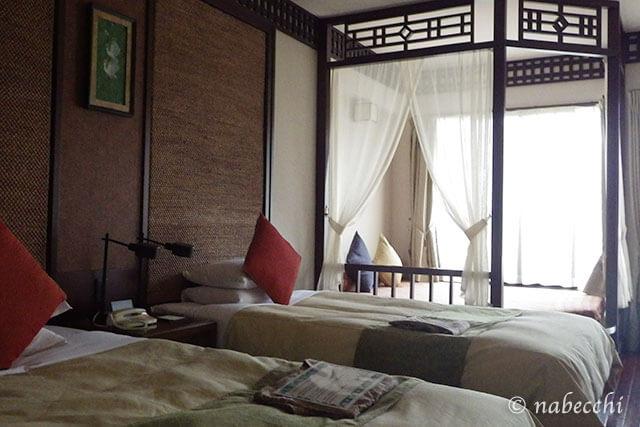 星野リゾートリゾナーレ小浜島 ベッド