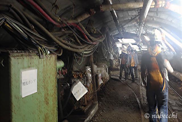 池島炭鉱体験