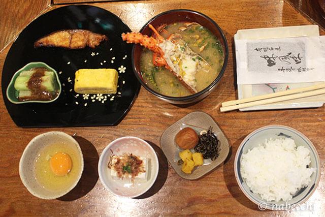 島宿「オープンハウス桜櫻」朝食