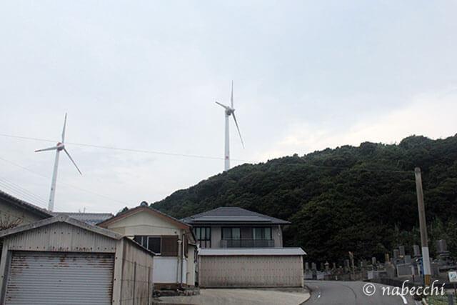 崎戸町内 風車