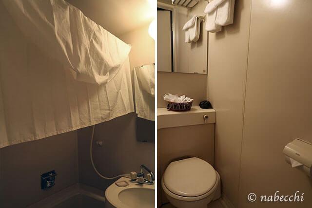 白馬八方ホテル「トロイメライ」バスルーム