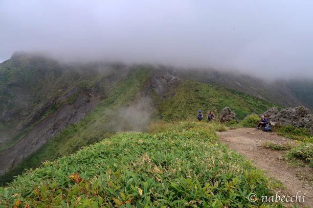 焼岳 見晴らしのいい場所