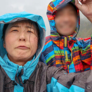 8月末に焼岳!上高地側から日帰り登山し、雨に見舞われ窮地に