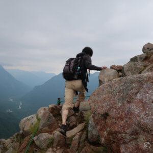 8月末に焼岳!上高地側から日帰り登山、初心者に雨で無念の下山