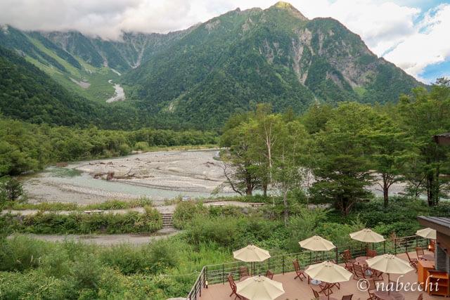 ホテル白樺荘 穂高連峰独占のお部屋[和室]からの眺め