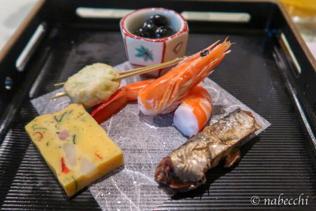 杣人料理「前菜」 ホテル白樺荘