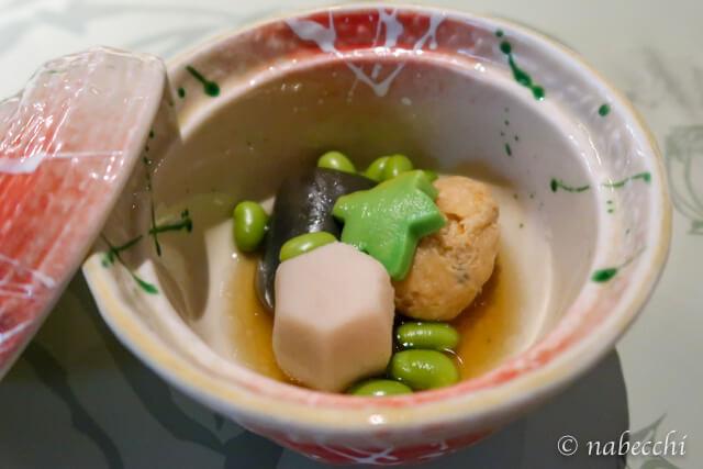 杣人料理「炊き物」 ホテル白樺荘