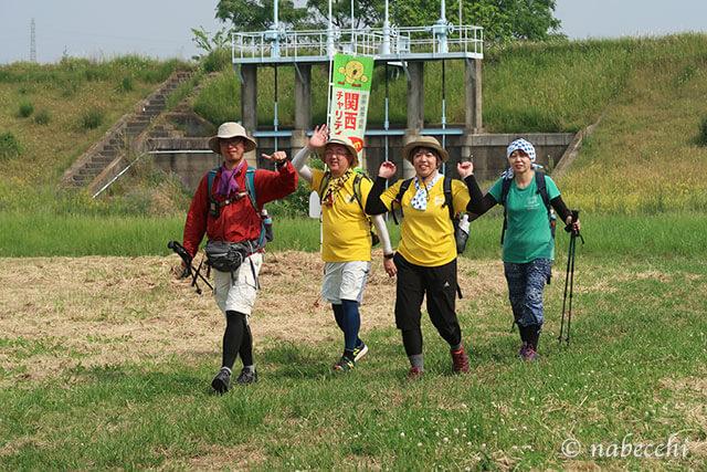 2019関西100km歩こうよ 加古川河川敷
